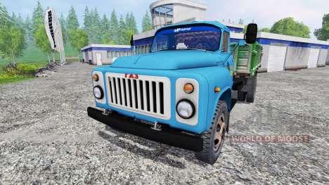 GAS-53 [zernotrans] v3.0 para Farming Simulator 2015