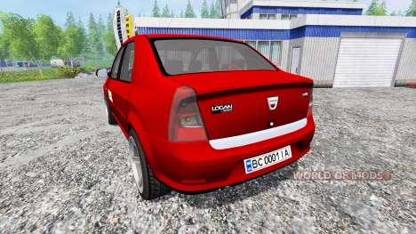 Dacia Logan v1.2 para Farming Simulator 2015