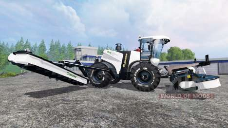 Krone Big M 500 [black] v1.5 para Farming Simulator 2015