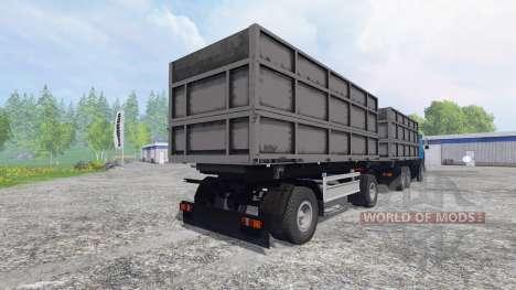 MAZ-630308 [tráiler] para Farming Simulator 2015