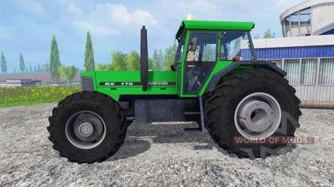 Torpedo RX 170 para Farming Simulator 2015