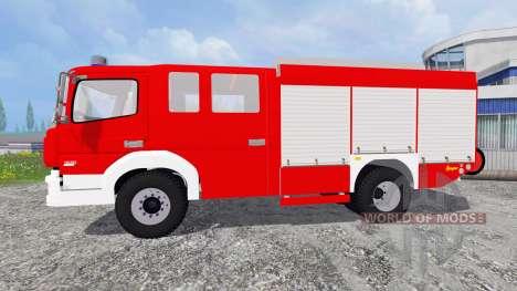 Mercedes-Benz Atego 1530 [firefighters] para Farming Simulator 2015