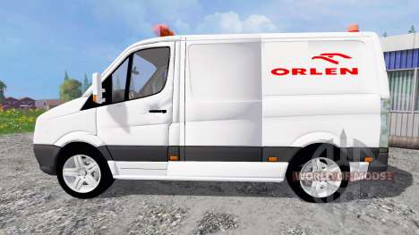 Volkswagen Crafter Orlen para Farming Simulator 2015