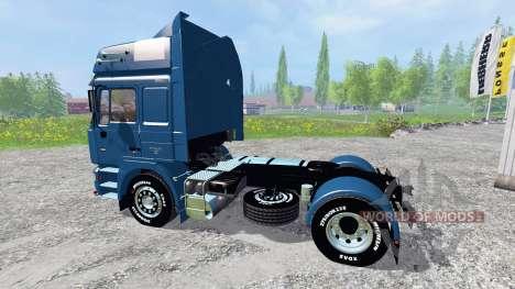 MAN F2000 19.603 FLS v1.3 para Farming Simulator 2015
