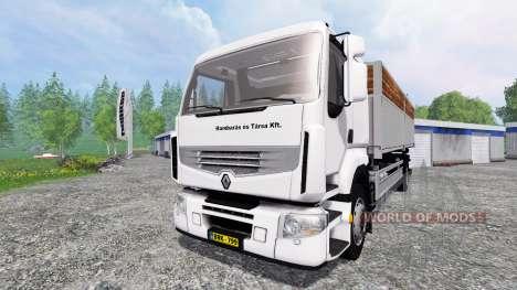 Renault Premium Distribution para Farming Simulator 2015