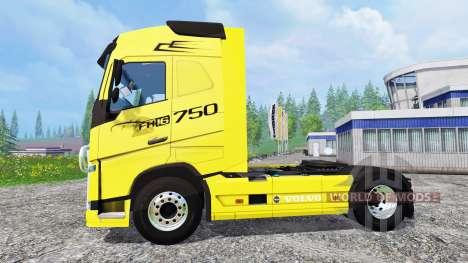 Volvo FH16 para Farming Simulator 2015