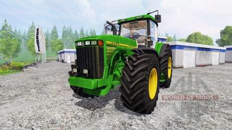 John Deere 8400 v4.0 para Farming Simulator 2015