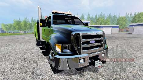 Ford F-650 [pack] para Farming Simulator 2015