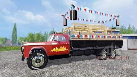 Dodge D700 [partywagen] para Farming Simulator 2015
