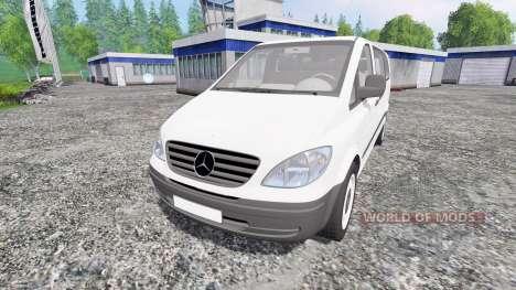 Mercedes-Benz Viano 2005 para Farming Simulator 2015
