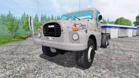 Tatra 148 para Farming Simulator 2015