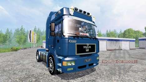 MAN F2000 19.603 FLS v1.4 para Farming Simulator 2015
