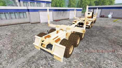 Hayes HDX [desert camo] para Farming Simulator 2015