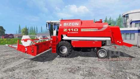 Bizon BS Z-110 para Farming Simulator 2015
