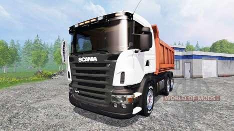 Scania R440 [tipper] para Farming Simulator 2015