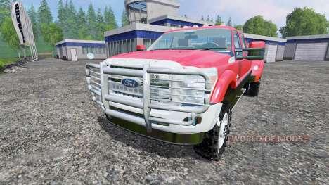 Ford F-450 para Farming Simulator 2015