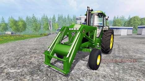 John Deere 4455 v2.2 para Farming Simulator 2015