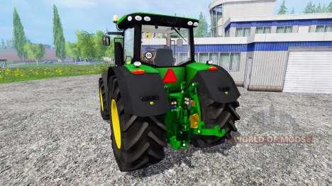 John Deere 7310R [wheel shader] v2.0 para Farming Simulator 2015