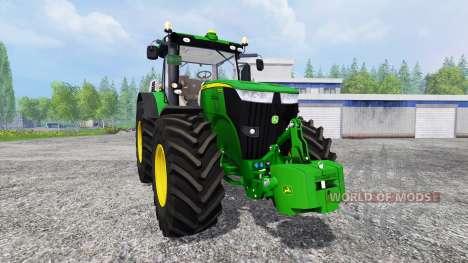 John Deere 7310R [washable] para Farming Simulator 2015