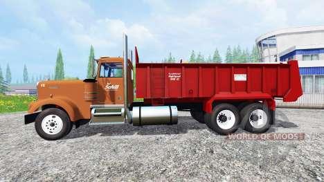 Kenworth W900 para Farming Simulator 2015