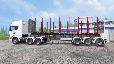 Scania R730 para Farming Simulator 2015
