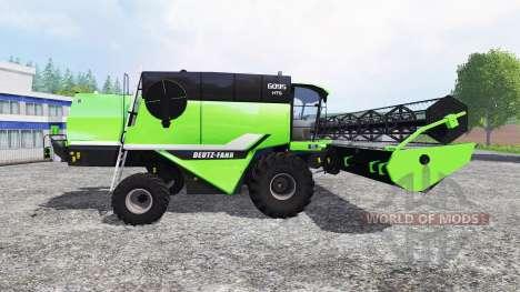 Deutz-Fahr 6095 HTS v1.3 para Farming Simulator 2015
