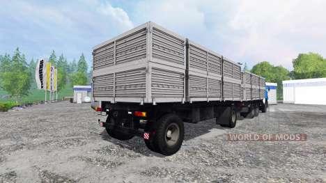 KamAZ-53212 para Farming Simulator 2015