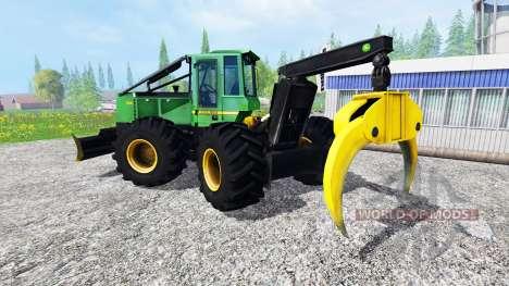 John Deere 748H v1.1 para Farming Simulator 2015