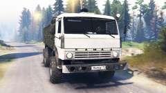 KamAZ-43114 v2.0 para Spin Tires