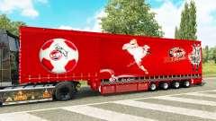Corona de la cortina semi-remolque 1. FC Koln para Euro Truck Simulator 2