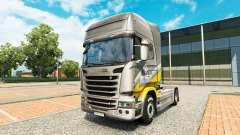 Maroni Transporte de la piel para Scania camión para Euro Truck Simulator 2