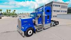 Скин de la Universidad de Duke Orgullo на Kenworth W900 para American Truck Simulator