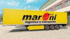Maroni Transportes de la piel para remolques para Euro Truck Simulator 2