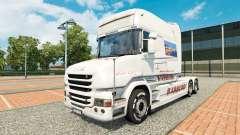 BARBERO de la piel para Scania camión T para Euro Truck Simulator 2
