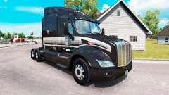 La piel de la Marta de Transporte LTD camión Peterbilt para American Truck Simulator