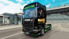 La piel Revada & de Keuster en el tractor Scania para Euro Truck Simulator 2