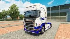 El Sueño americano de la piel para Scania camión para Euro Truck Simulator 2