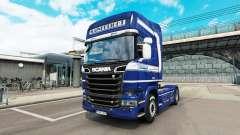 Mainfreight de la piel para Scania camión para Euro Truck Simulator 2