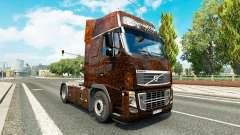 Ferrugem de la piel para camiones Volvo para Euro Truck Simulator 2
