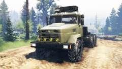 KrAZ-6322 v2.0 para Spin Tires