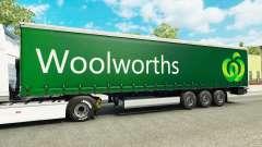 Woolworths piel para remolques para Euro Truck Simulator 2