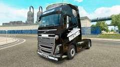 La piel de World of Tanks en Volvo trucks para Euro Truck Simulator 2