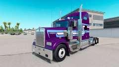 La piel Icono de Estilo en el camión Kenworth W900 para American Truck Simulator