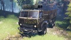 KamAZ-4310 [militar] v4.0 para Spin Tires