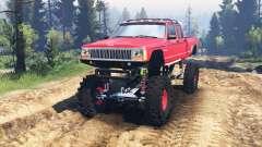 Jeep Grand Cherokee Comanche 4x4 v2.0 para Spin Tires