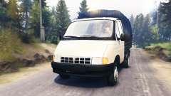 GAZ-3302 Gacela v2.0 para Spin Tires