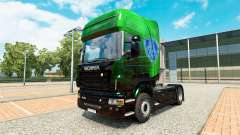Exclusivo Metálico de la piel para Scania camión para Euro Truck Simulator 2