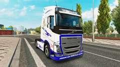 El Sueño americano de la piel para camiones Volvo para Euro Truck Simulator 2