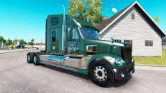 La piel de LDI en el camión Freightliner Coronado para American Truck Simulator