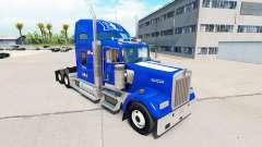 Скин de la Universidad de Duke Orgullo v1.02 на Kenworth para American Truck Simulator